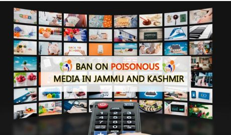 Ban on poisonous media in Jammu and Kashmir